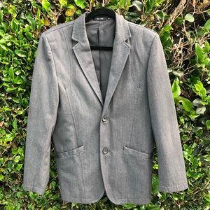 Matsuda Suits & Blazers - Matsuda Men Vintage Grey Suits Jacket Informal